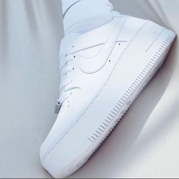 nike air force one platform